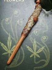 Natural English Oak Wood Wand Pendant - Strength - On a cord - Pagan, Witchcraft