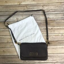 0165998ecfb8 Marc by Marc Jacobs Too Hot to Handle Lea Brown Leather Crossbody Bag