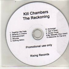 (DA998) Kill Chambers, The Reckoning - DJ CD