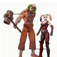 BATMAN - Arkham City - Mr. Hammer & Harley Quinn Action Figure 2-Pack Dc Direct