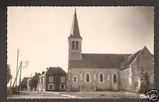 MERS (36) EGLISE , MAIRIE & MONUMENT aux MORTS en 1956