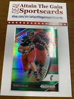 2020 Panini Prizm Draft Picks Travis Kelce Green