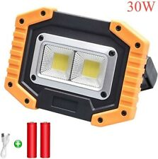 30W Portable LED Work Light Waterproof Floodlight with 180 Degree Concealed