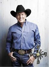 George Strait Wall Clock  It would make a great  Gift