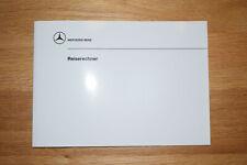 Mercedes W124 W126 Bedienungsanleitung Reiserechner trip computer manual