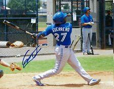 VLADIMIR GUERRERO JR. Toronto Blue Jays Autographed 8x10 Photo  (RP)