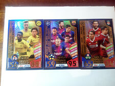Match Attax Gold Limited Edition - Champions League 2017/18 ( PES 3 cards)