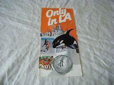 Vintage Tourism Leaflet Flyer, Only in LA, 1978