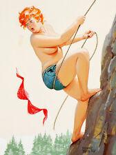 "Vintage Pin Up Hilda 11 x 14""  Photo Print"