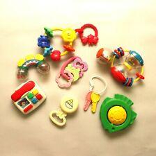 Developmental Baby Toys Rattles Lot of 8 Items