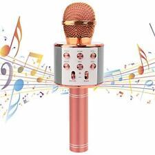 Karaoke Mikrofon Drahtloses Bluetooth Mikrofon für Kinder Bluetooth Mikrophon...