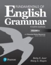 FUNDAMENTALS OF ENGLISH GRAMMAR STUDENT BOOK A WITH ESSENTIAL ONLINE RESOURCES