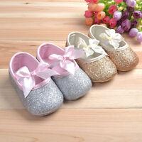 Newborn-18M Baby Toddlers Girls Princess Shoes Anti-slip Soft Sole Prewalker