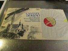 CANTATE DOMINO AUDIOPHILE TAS LP PROPRIUS PROP 7762 NM W INSERT INNER BOOKLET