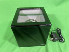 Plastic with Ac Power Supply Tech Swiss Watch Winder Black