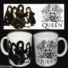 tazza mug music QUEEN Freddie mercury rock metal scodella ceramica