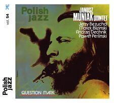 CD JANUSZ MUNIAK QUINTET Question Mark / Polish Jazz vol. 54 / reedycja 2016