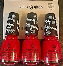 CHINA GLAZE NAIL POLISH # 83993 APPLEJACK Of MY EYE 0.5OZ ,1534 ( 3 BOTTLES)