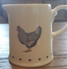 Cooksmart Farmers Kitchen Collection Cream / Milk Jug, chicken design