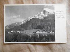 Old Vintage Antique Postcard Des Furers Landhaus am Obersalzberg Germany Hitler