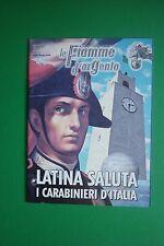 LE FIAMME D'ARGENTO  APRILE/MAGGIO 4-5/2008 LATINA SALUTA I CARABINIERI D'ITALIA