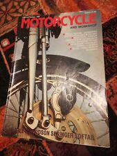 Motorcycle & workshop Iss.6 Jan Feb 1989 BMW k100rs Honda Suzuki Kawasaki