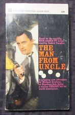 1966 THE MAN FROM UNCLE #1 PB Souvenir/For Square FN UK Inside Cover Photos