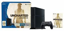 "New Sony PlayStation 4 Ps4 500Gb ""Uncharted: The Nathan Drake Collection"" Bundle"