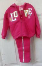 2B Real Girls 12 mo Pink Sweatsuit Hoodie & Pants