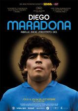 Locandina film DIEGO MARADONA 30x70 cm Manifesto poster originale Napoli Calcio
