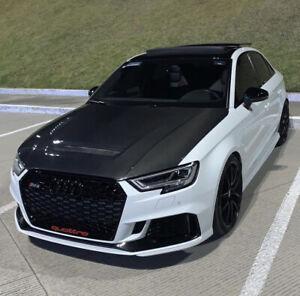 CMST Tuning Carbon Fiber Hood Fit Audi A3 S3 RS3 2013-2020