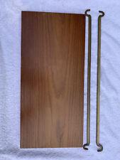 Ladderax Teak Slim Rare Short Shelf 2 Support Bars 43.5cm X 20cm (B)