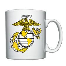 USMC / United States Marine Corps badge - Personalised Mug / Cup