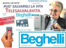BEGHELLI SALVALAVITA N° 2 TELECOMANDI SALVA VITA SOS CERCA PERSONE ANZIANI NONNI