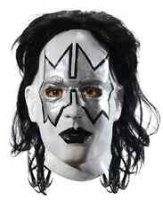 Spaceman Mask KISS Band Ace Frehley Rock Star Halloween Adult Costume Accessory