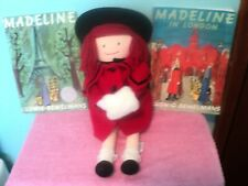 """Madeline Doll 16 """"- Soft Body with 2 books"""