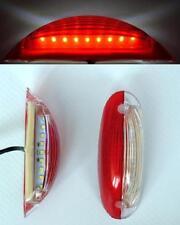 2 x Vertikal LED Seite Umriss leuchte ROT/weiß Lichter für BUS SETRA Scania Mann