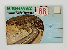 Vintage Route 66 Thru New Mexico Post Card Booklet