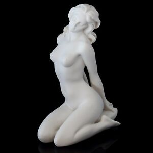 "Aphrodite Contemporary Marble Statue Stone Figurine Venus Art Sculpture 7 3/4"""