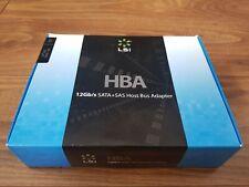 LSI SAS9300-16e H5-25520-00 PCI-e 3.0 x8 SAS3 12Gb/s HBA