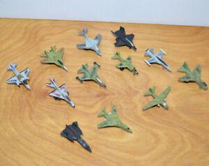 Vintage Funrise Micro Airplanes Military Jets Lot MICRO MACHINES KO 1990'S Toys