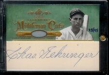 2005 Legendary Middleman Cuts Charlie Gehringer #28/95 Detroit Tigers