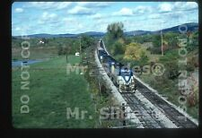 Original Slide D&H Delaware & Hudson GP39-2 7614 & 3 Action Binghamton NY 1983