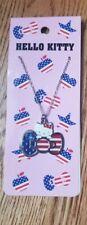 Hello Kitty American America Necklace