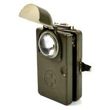 WWII Original vintage swiss army military flashlight lamp