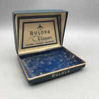 Vintage Bulova Jet Clipper Wrist Watch Presentation Box Only