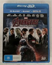 AVENGERS: Age of Ultron BLU-RAY 3D Region B 2-DISC oz seller Marvel
