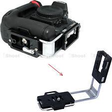 L- Holder Vertical Quick Release Plate for Nikon D3100 D3000 Camera Battery Grip