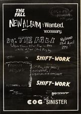 20/4/91 Pgn02 Advert: The Fall shiftwork 2nd Album On Fontana Out Now 15x11