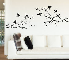 Tree Branch Birds Wall Sticker Home Quotes Inspirational Love MS353VC